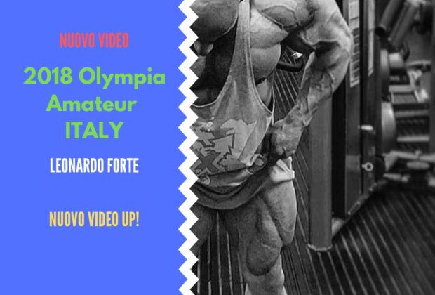 tony mount 2018 olympia amateur ITALY