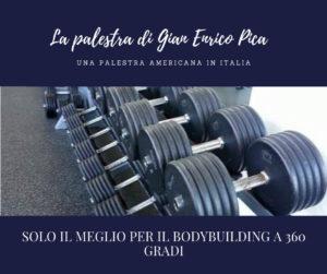 gian enrico Pica PRO IFBB palestra