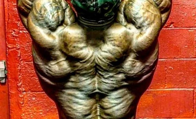 George Peterson IFBB Pro is looking insane