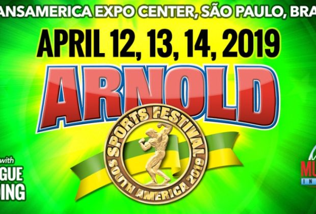 2019 arnold classic south america logo