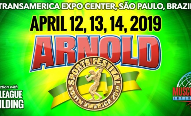 2019 arnold classic south america logo