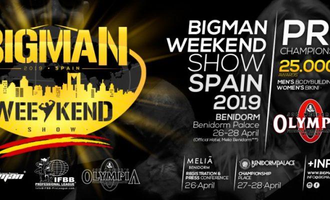 2019 bigman weekend pro ifbb