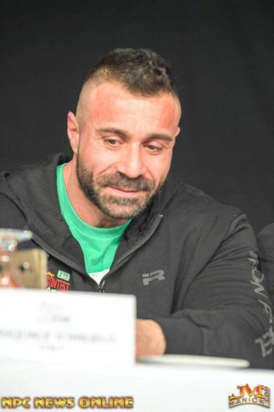 pasquale d'angelo 2019 muscle contest irland
