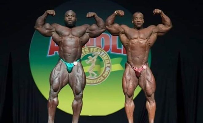 2019 Arnold Classic South America essa obiad VS akim Williams
