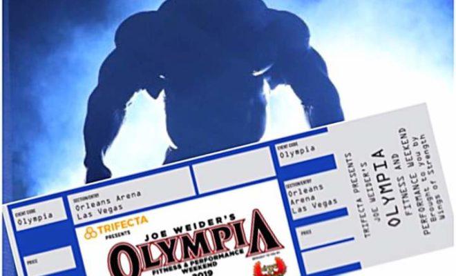2019 mr olympia biglietti
