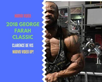 clarence De vis 2018 george farah classic pro ifbb