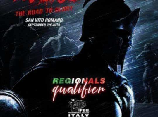 INVICTUS THE ROAD TO GLORY IFBB PRO LEAGUE REGIONALS