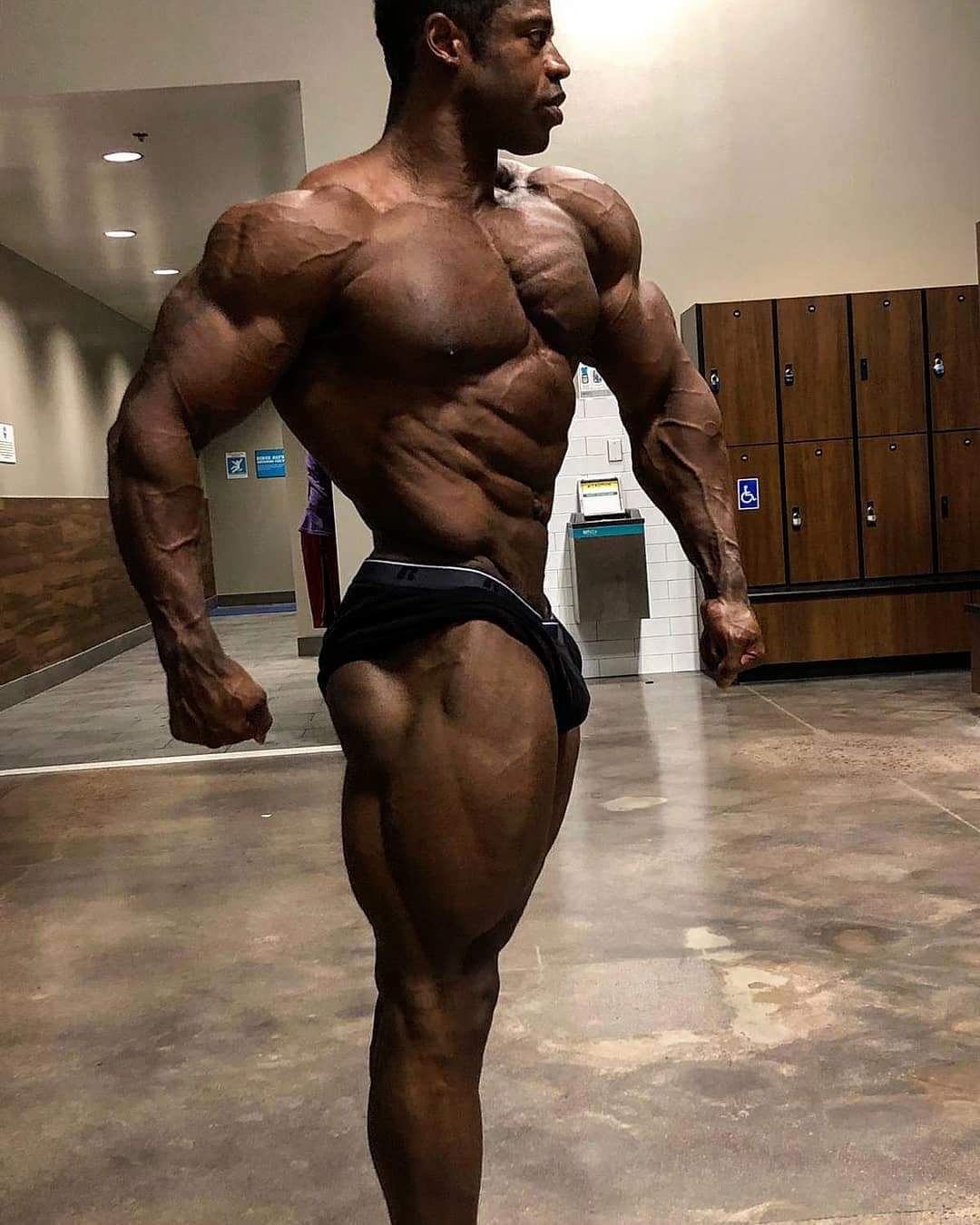 BREON ANSLEY, PRO IFBB 29 agosto 2019 road to 2019 mr olympia