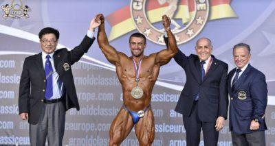 2019 Arnold Classic Europe overall bodybuilding Usein Salimov