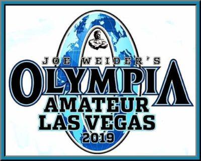 2019 OLYMPIA AMATEUR LAS VEGAS