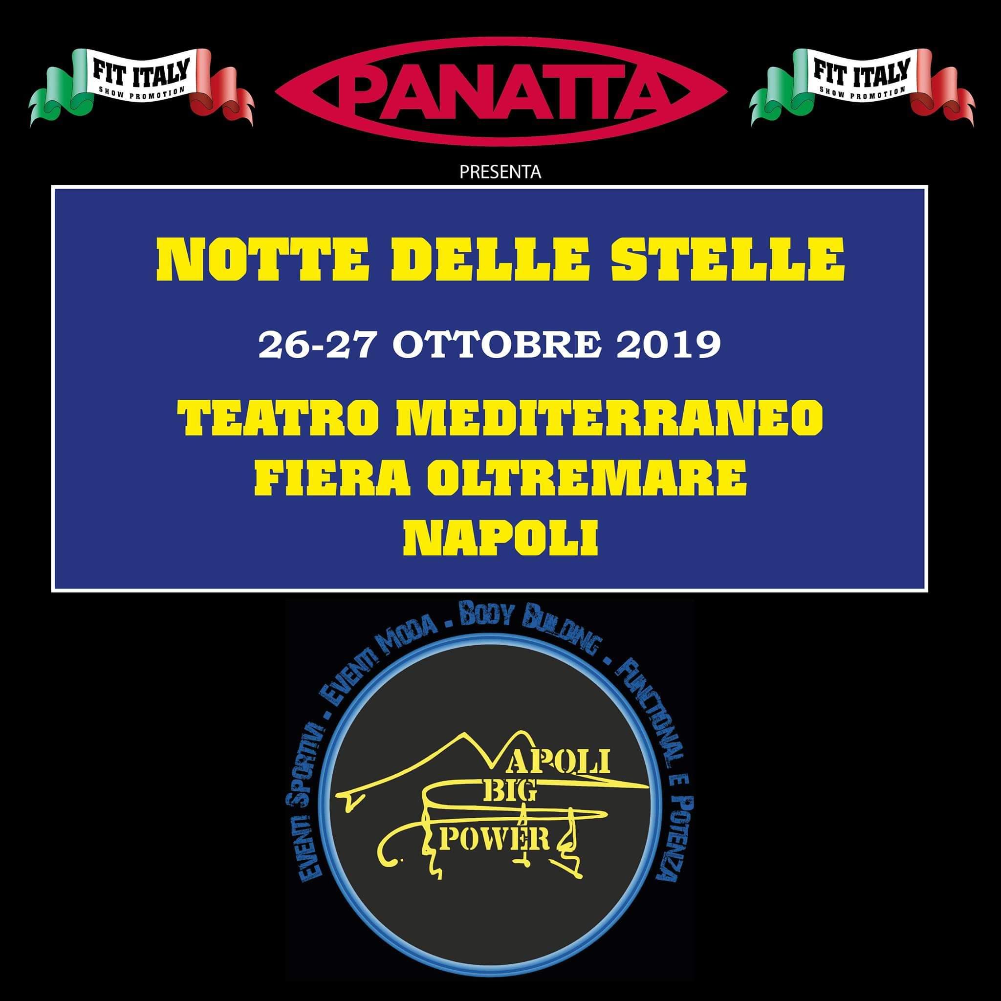 2019 notte delle stelle ifbb italia