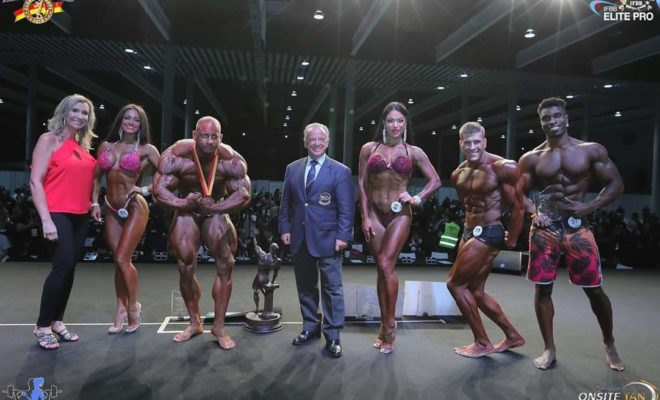 2019 arnold classic europe ifbb elite pro