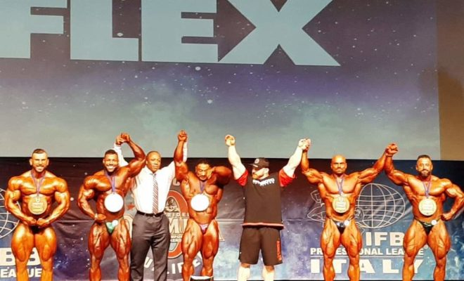 2019 YAMAMOTO CUP IFBB PRO LEAGUE: FULL RESULTS