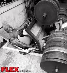 la pressa di Ronnie Coleman nella palestra metroflex gym di arlington, in Texas