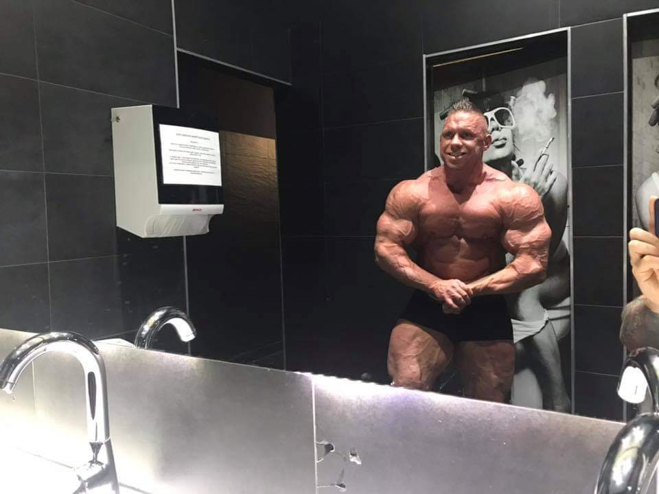 daniel toth 1 week out from 2019 FITPARADE PRO IFBB