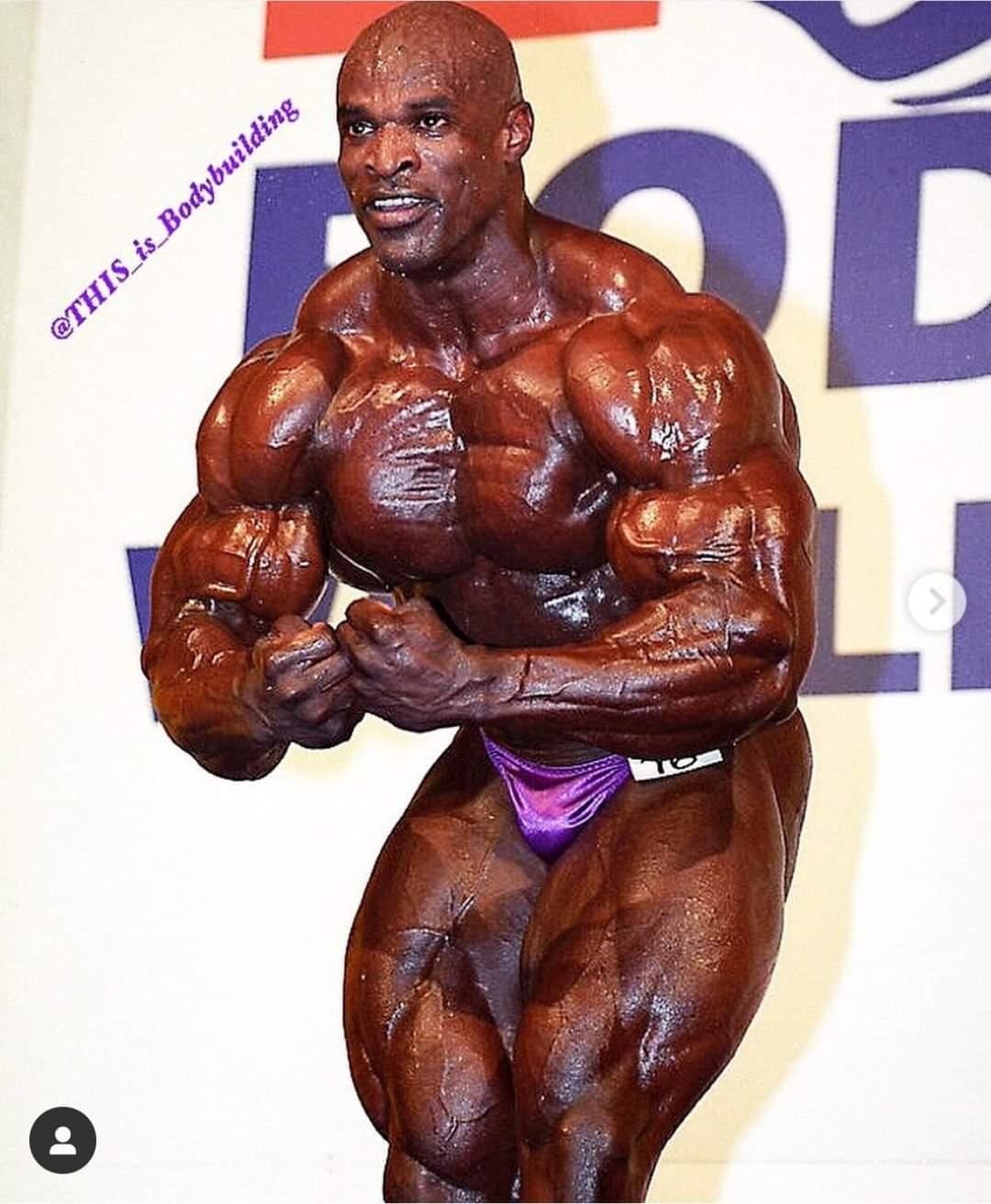 ronnie coleman pro ifbb 8 volte mr olympia al 1999 World Pro Championships