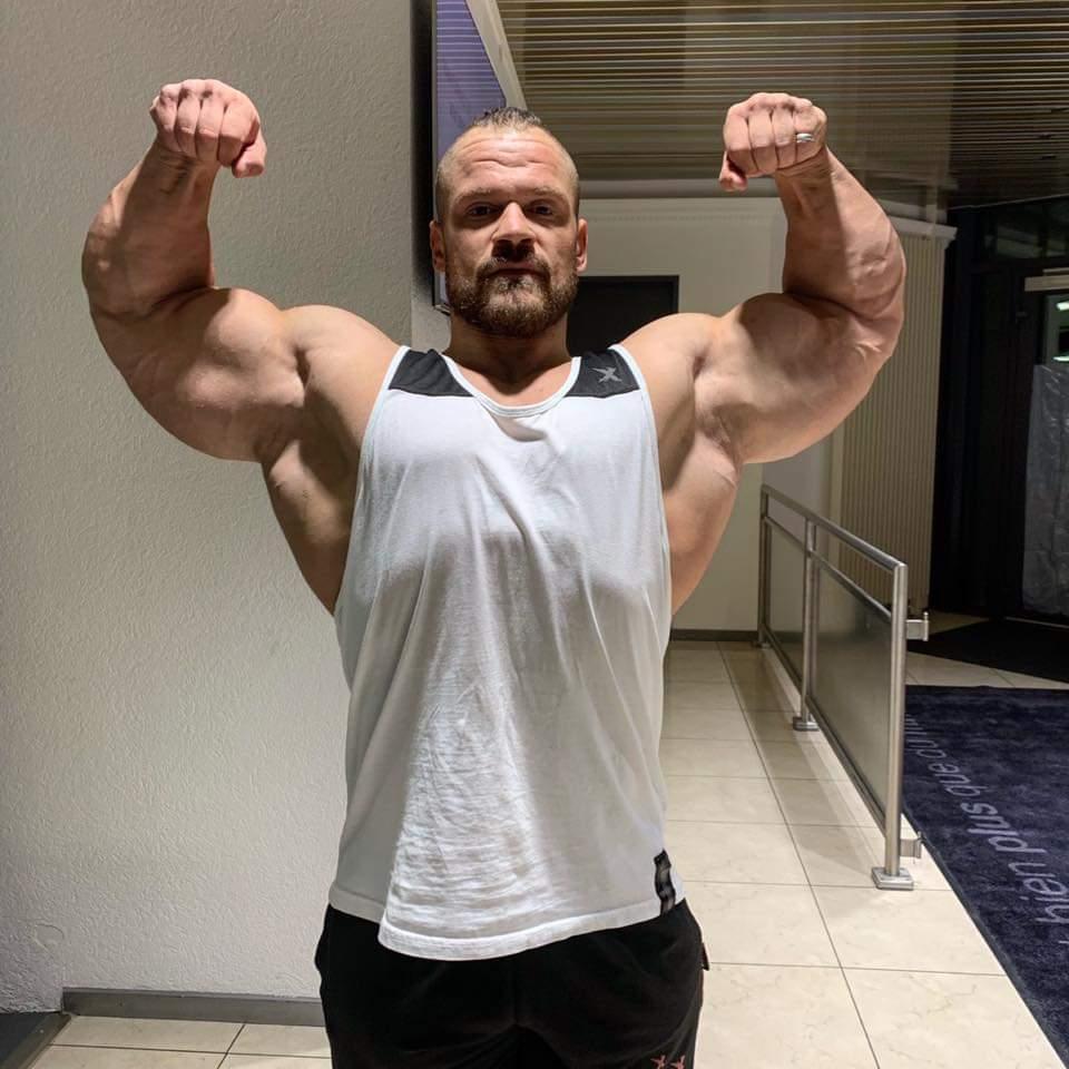 NICOLAS VUILLOD pro ifbb offseason ottobre 2019