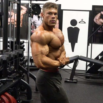 Wesley Vissers pro ifbb classic physique