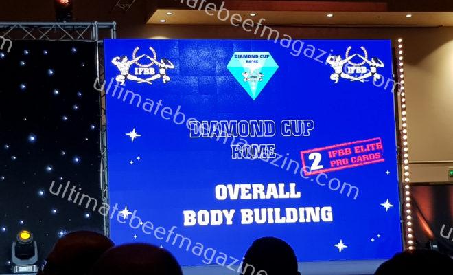 2019 DIAMOND CUP ROME NEW IFBB ELITE PRO
