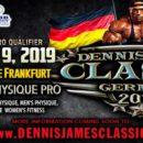2019 dennis james classic germany ifbb pro league