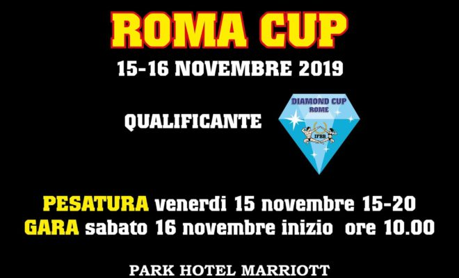 2019 rome cup ifbb