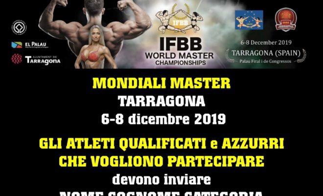 IFBB WORLD MASTER CHAMPIONSHIPS 2019