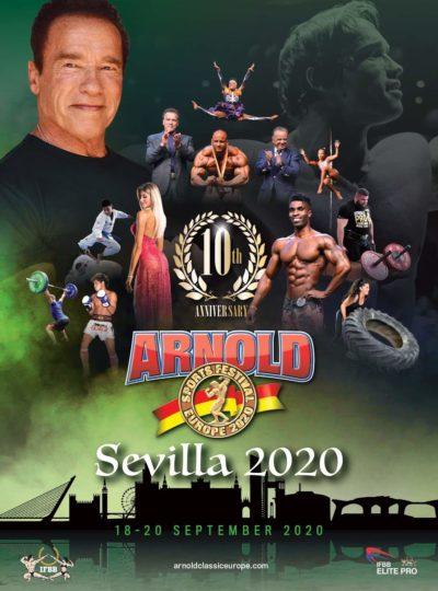 2020 arnold classic europe siviglia