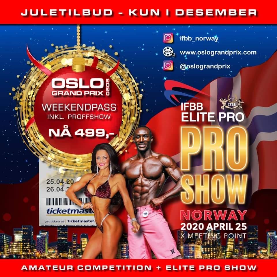 2020 ifbb elite pro show norway