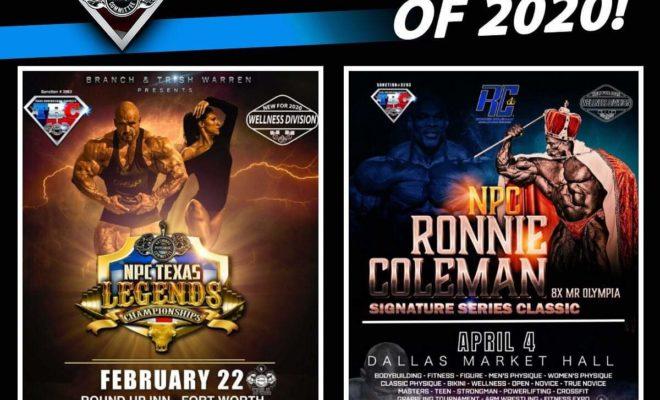 ronnie coleman classic 2020 NPC