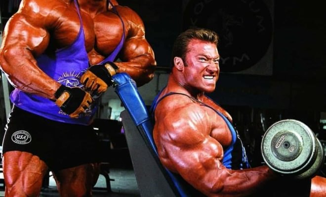 jay cutler 4 volte Mister olympia