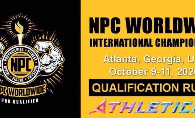 2020 athleticon npc wordwide