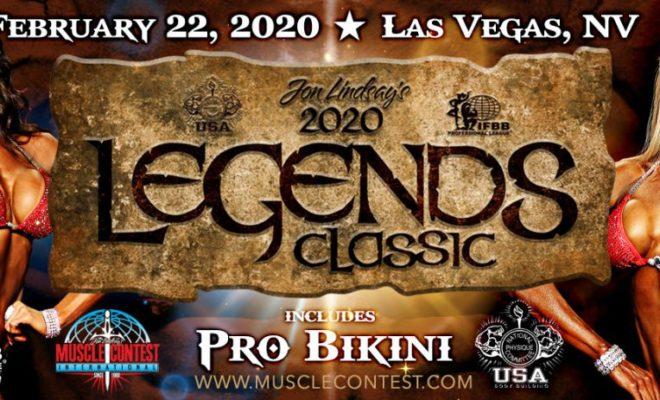 2020 Legends Classic pro bikini