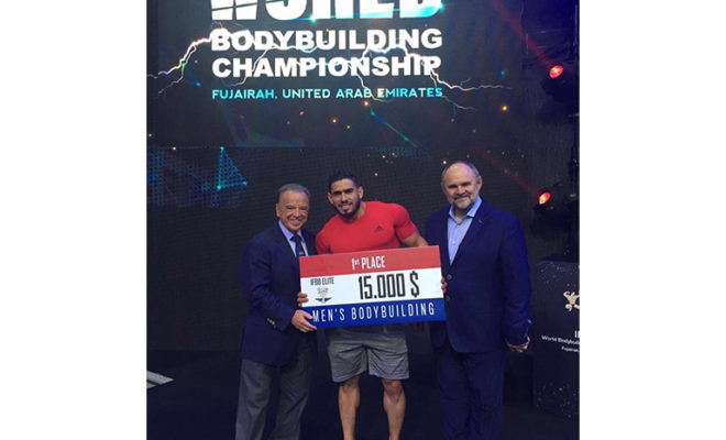 Ali Midoun from Algeria – Men's Bodybuilding