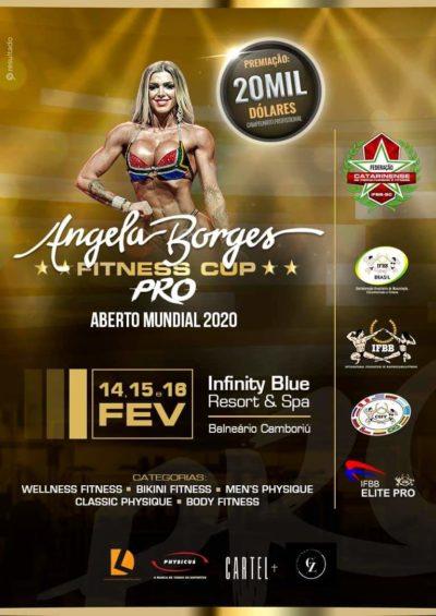 IFBB ELITE PRO al Angela Borges 2020 IFBB Fitness Cup – Amateur and Elite Pro contest