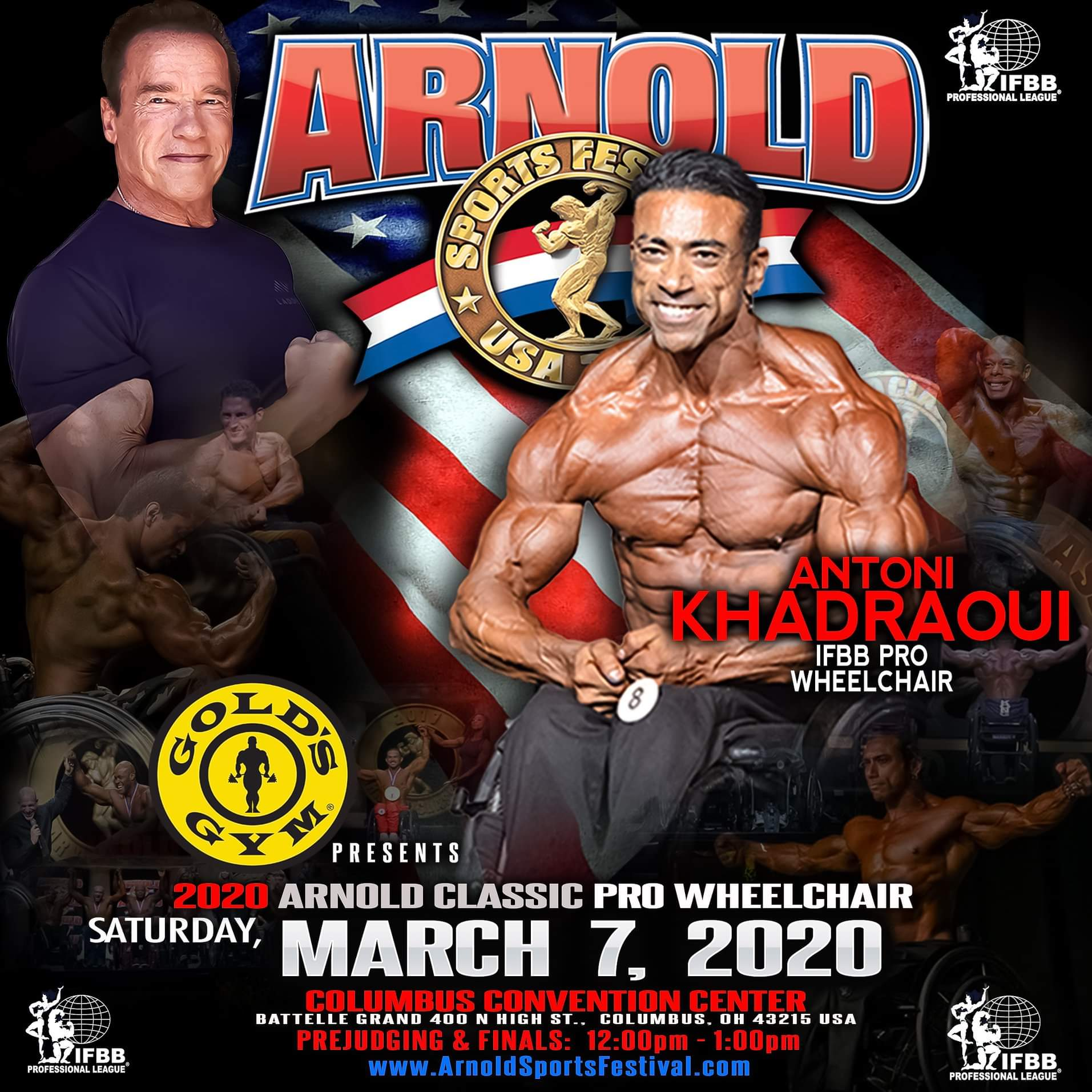2020 arnold classic pro wheelchair