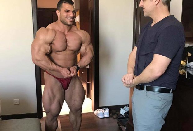 Hassan Mostafa 7 weeks out of San Luis Pro
