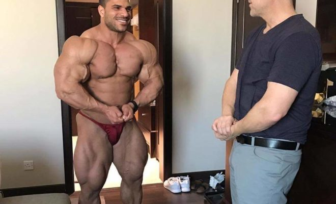 Hassan Mostafa 7 weeks out of San Luis Pro con Chris Aceto