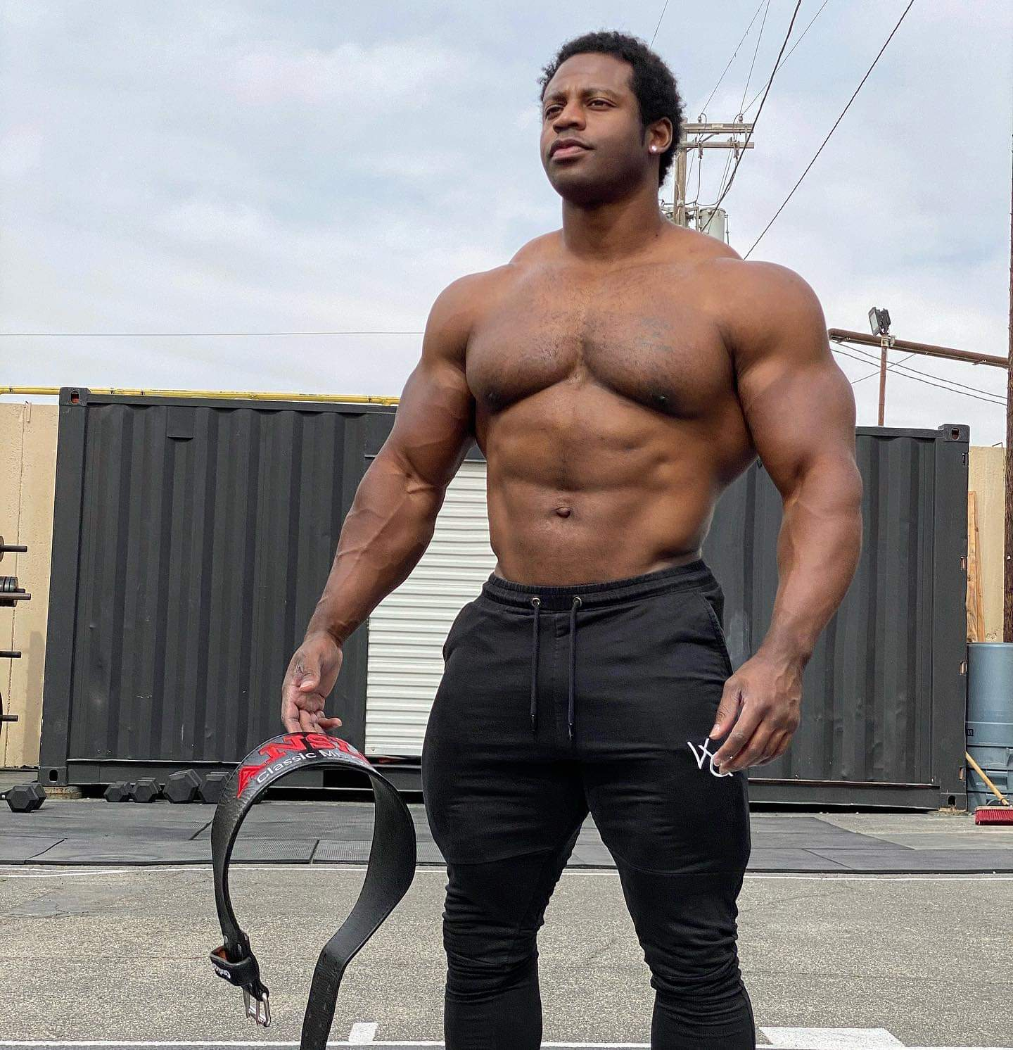 Breon Ansley pro ifbb in palestra