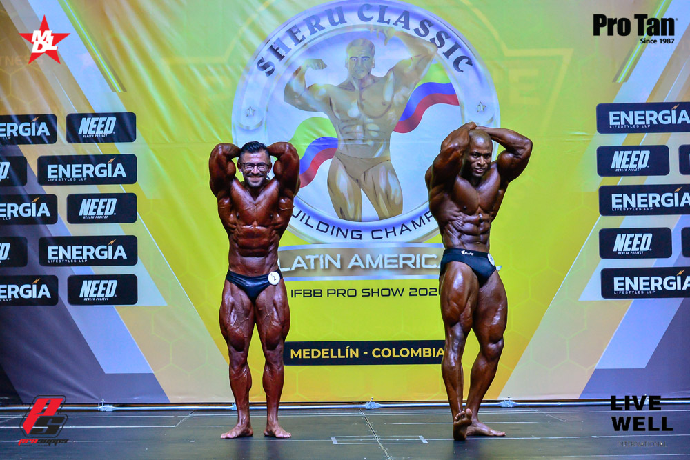 2020 Sheru Classic Colombia pro ifbb Men's Classic Physique
