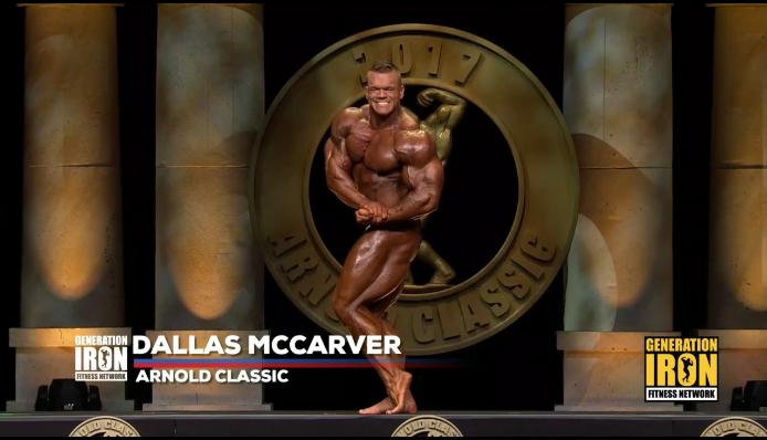 dallas mccarver pro ifbb all'Arnold Classic Ohio 2017