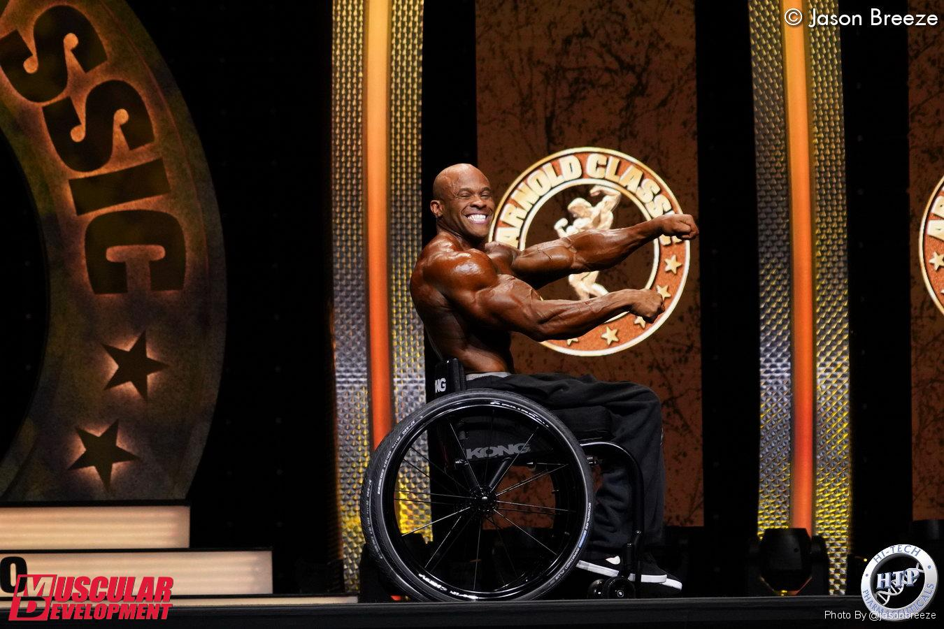 HAROLD KELLEY VINCE L'ARNOLD CLASSIC OHIO 2020 MEN'S WHEELCHAIR BODYBUILDING