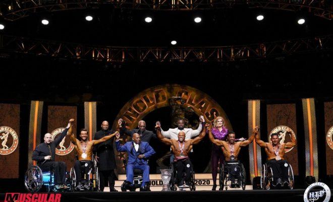 HAROLD KELLEY VINCE L'ARNOLD CLASSIC OHIO 2020 MEN'S WHEELCHAIR BODYBUILDING