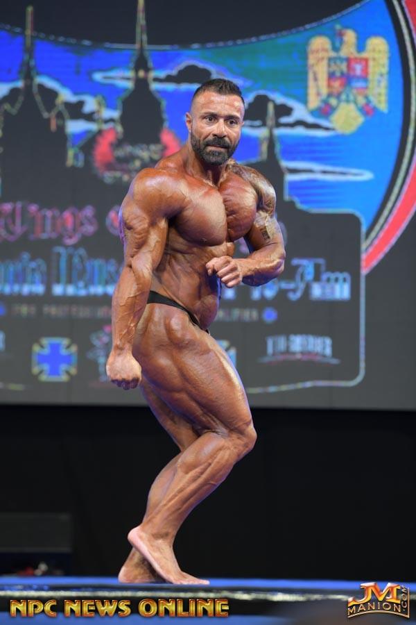 PASQUALE D'ANGELO pro ifbb al 2018 romania muscle fest