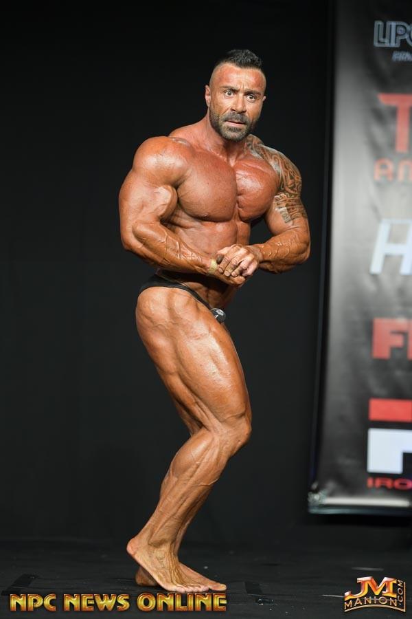 PASQUALE D'ANGELO pro ifbb al musclecontest 2019