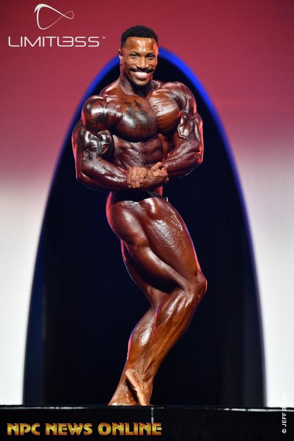 Patrick Moore al Mister Olympia 2019