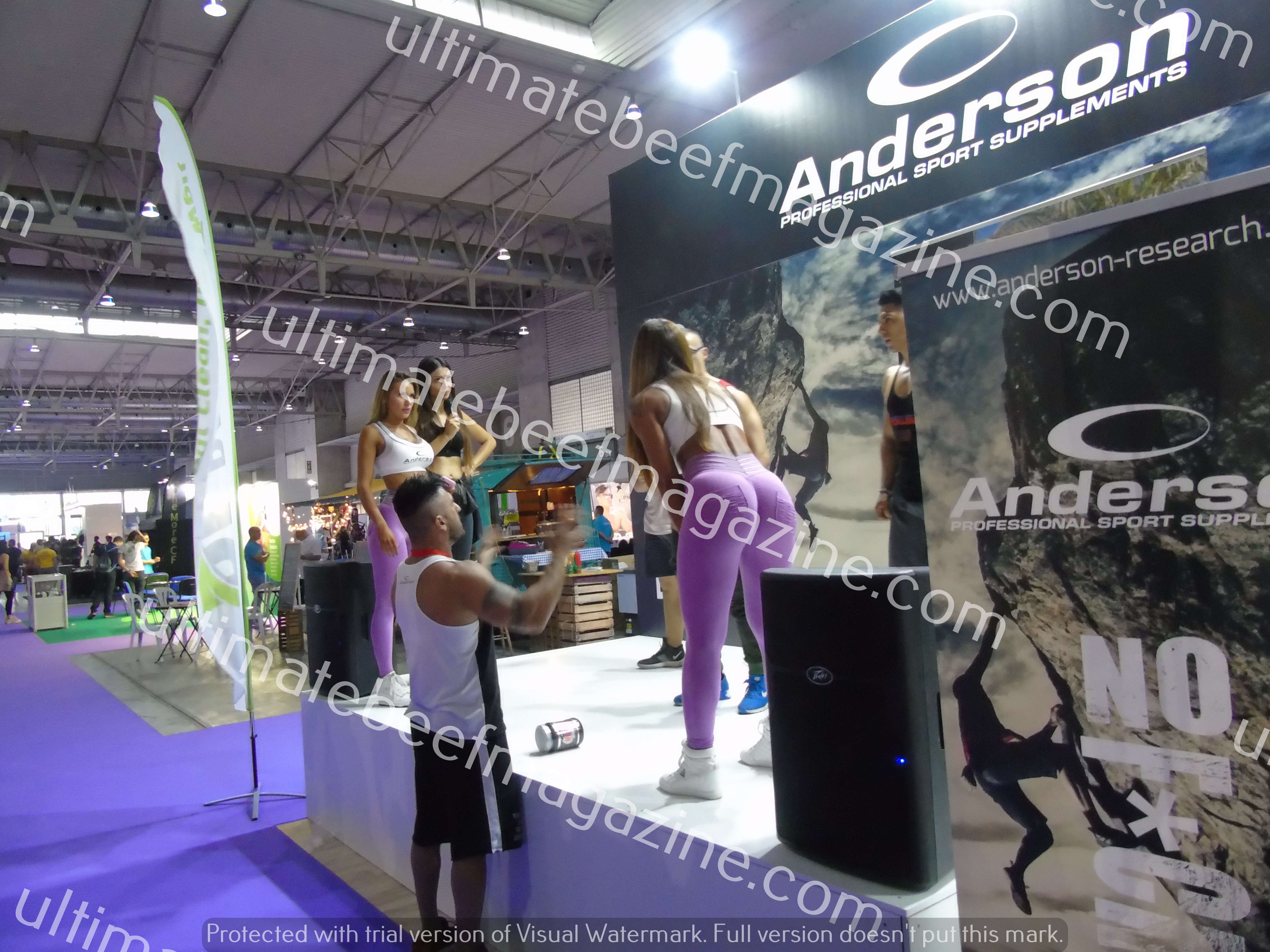 2019 arnold classic europe lo stand anderson