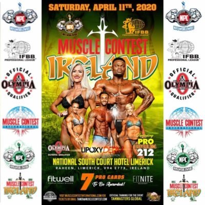 Muscle Contest Ireland 2020 pro ifbb