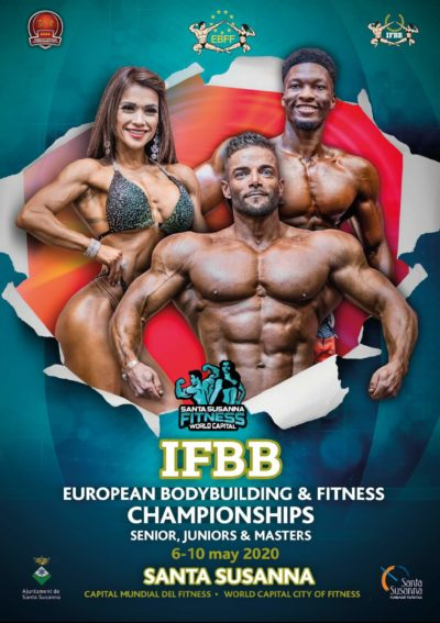 ifbb european bodybuilding & fitness championships 2020