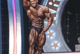 MEN'S CLASSIC PHYSIQUE pro ifbb ALEX CAMBRONERO 2020 arnold classic ohio winner