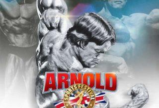 2021 arnold classic UK locandina